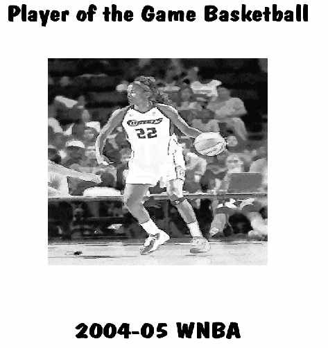 2005 WNBA Player of the Game Yearbook