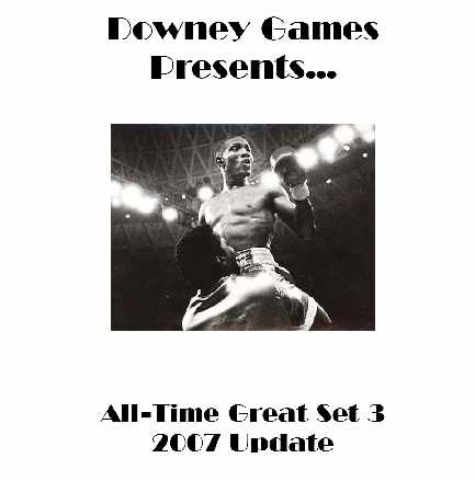 Main Event Boxing All-Time Great Set 3 2007 Update