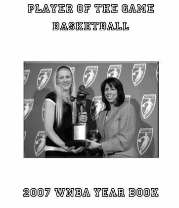 2007 WNBA Player of the Game Yearbook