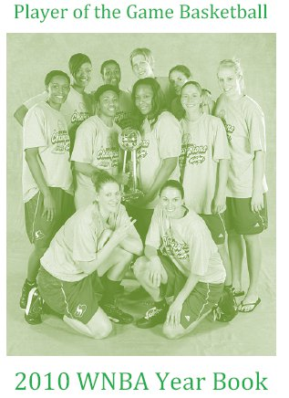 2010 WNBA Player of the Game Yearbook