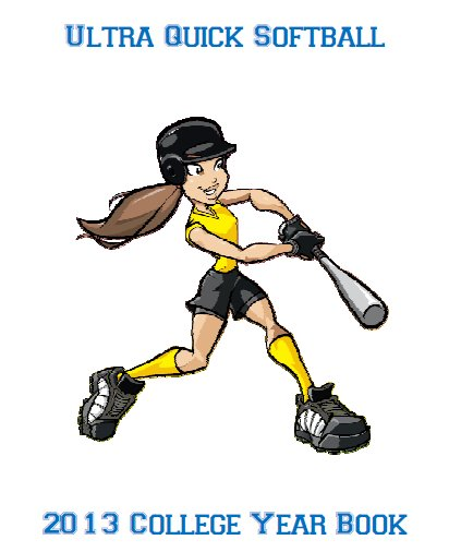 2013 College Softball E-Book for UQ Baseball
