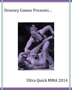 Ultra Quick MMA 2014 Edition E-Book