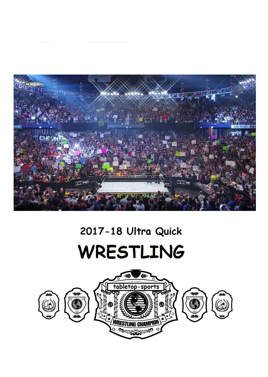Ultra Quick Wrestling 2018 Year Book