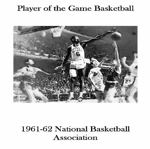 1961-62 NBA Player of the Game Yearbook