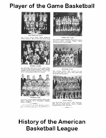 The History of the American Basketball League