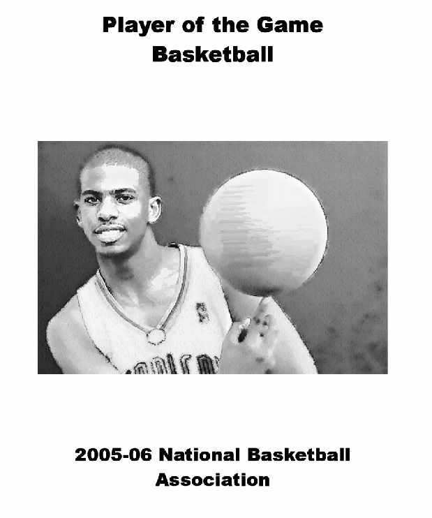2005-06 NBA Player of the Game Yearbook
