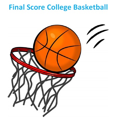 Final Score College Basketball Game Parts