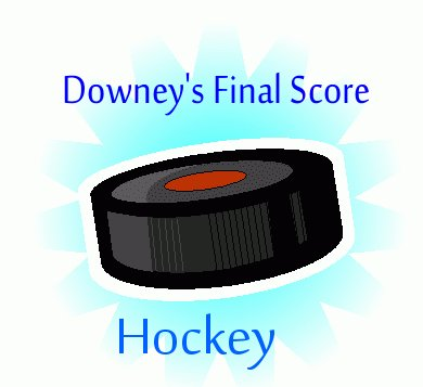 Downey's Final Score Hockey Olympic Games Year Book