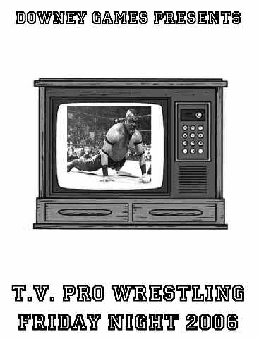 TV Pro Wrestling Friday Night 2006 E-Book