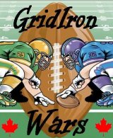 GridIron Wars Complete Canadian Game with 2004 Season