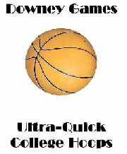 Ultra Quick College Hoops 2009 E-Book