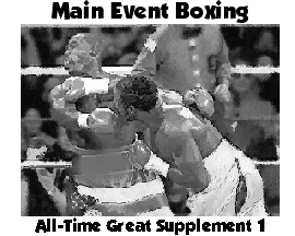 Main Event Boxing All-Time Great Set 1 2006 Update