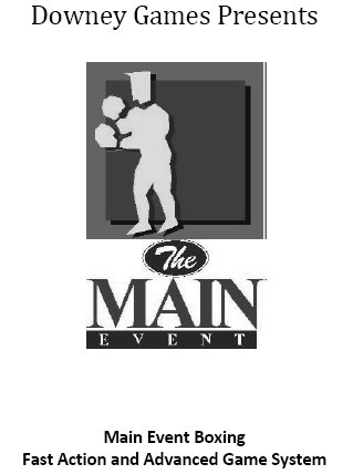 Main Event Boxing Fast Action and Advanced Game