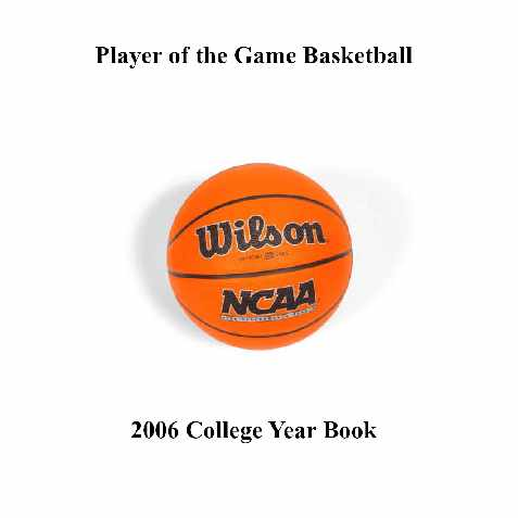 2012 Player of the Game NCAA Year Book