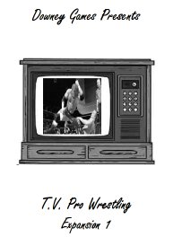 TV Pro Wrestling Expansion Set 1