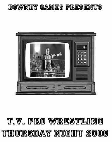 TV Pro Wrestling Thursday Night 2006 E-Book
