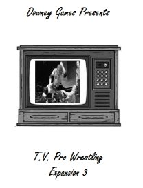 TV Pro Wrestling Expansion Set 3