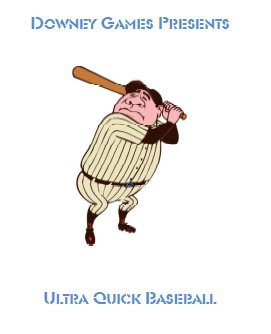 Ultra Quick Baseball E-Book Game Parts