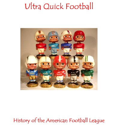 Ultra Quick Football History of the AFL