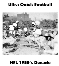 Ultra Quick Football 1950's NFL Decade