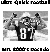 Ultra Quick Football 2000's NFL Decade