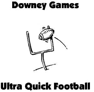 Ultra Quick Football Game Parts