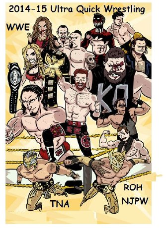 Ultra Quick Wrestling 2015 E-Book