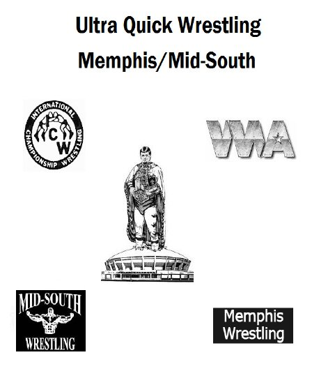 Ultra Quick Wrestling Memphis/Mid South Year Book