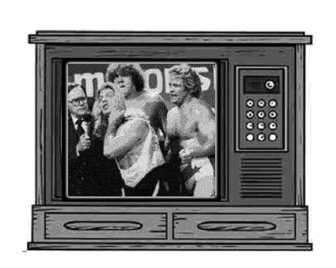 TV Pro Wrestling Early 80's Georgia Territory E-Book